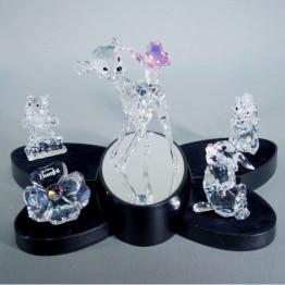 Swarovski Kristal | Disney | Bambi - Complete Set | 943951 943601 943953 943597 955432 981942