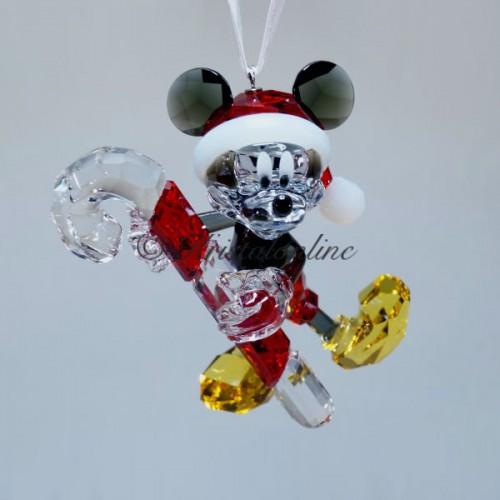 swarovski crystal disney mickey mouse christmas ornament 5135938