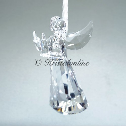 Swarovski Silver Crystal Christmas Angel Ornament Annual ...