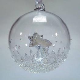 Swarovski Kristal | Silver Crystal | Kerst | Kerstbal Ornament - Jaarlijkse Editie 2018 | 5377678