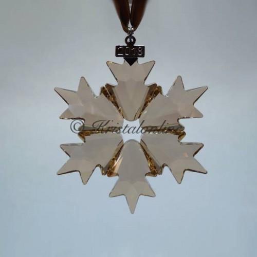 35f8b849b Swarovski Crystal | Silver Crystal | Christmas Ornament - Annual Edition  2018 - SCS - Golden