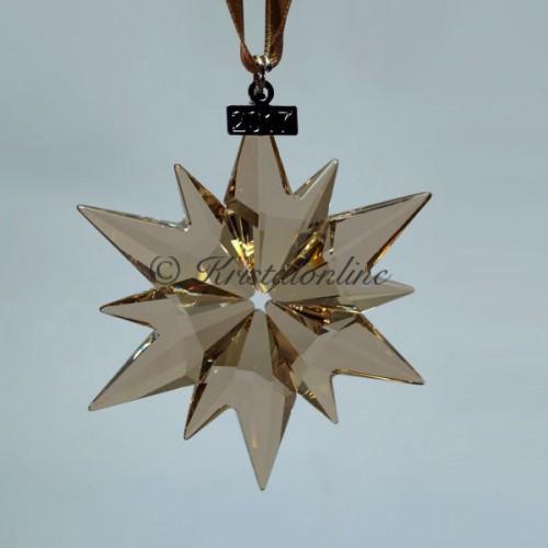 813adaf5a Swarovski Crystal | Silver Crystal | Christmas Ornament - Annual Edition  2017 - SCS - Golden
