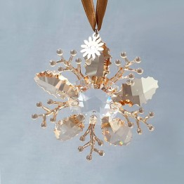 Swarovski Kristal | Kerst | Kerst Ornamenten | Kerst Ornament - Winter Sparkle - SCS - Gelimiteerde Editie 2020 | 5533949