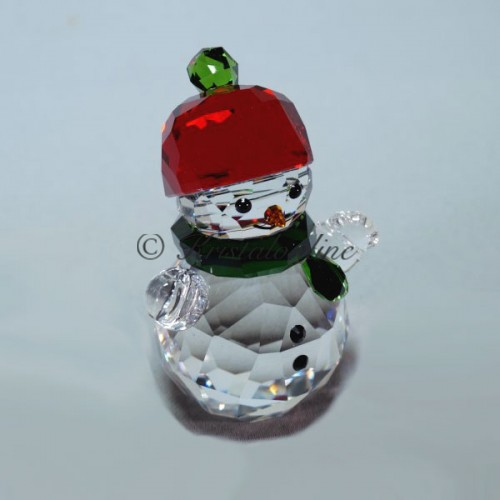 0bf0a67b97855 Snowman with Red hat