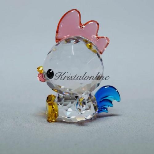 688acff23 ... Swarovski Crystal | Silver Crystal | Lovlots | Zodiac - Decisive Rooster  | 5302559 ...