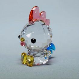 Swarovski Kristal | Silver Crystal | Lovlots | Zodiac - Beslissende Haan | 5302559