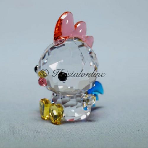 8785fd90649dd1 Swarovski Silver Crystal Lovlots Zodiac Decisive Rooster 5302559