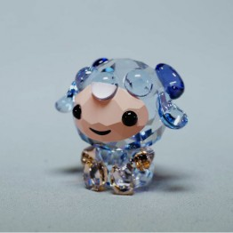 Swarovski Kristal | Silver Crystal | Lovlots | Zodiac - Oprechte Schaap | 5302560