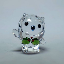 Swarovski Kristal | Silver Crystal | Hoot - Fijne Feestdagen - Jaarlijkse Editie 2018 | 5393324