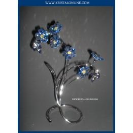 Swarovski Kristal | Crystal Paradise | Danuba - Sapphire 988071