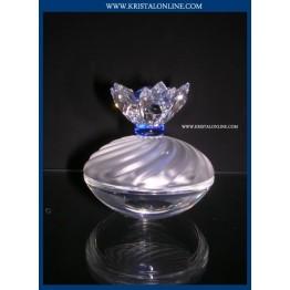 Juwelendoosje blauwe bloemen