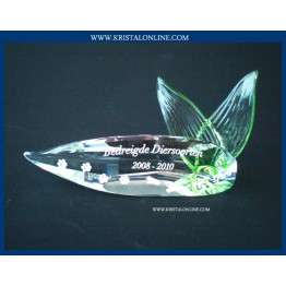 Titel Plaquette 2008-2010 Bedreigde diersoorten
