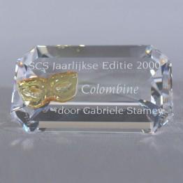 Titel Plaquette 2000 Colombine