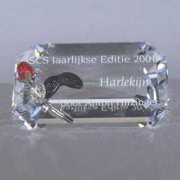Titel Plaquette 2001 Harlekijn