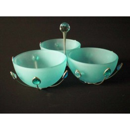 Schalen Jewels blauw