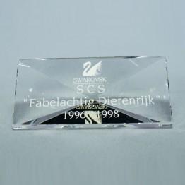 Titel Plaquette 1996-1998 Fabelachtig dierenrijk