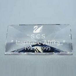 Titel Plaquette 1993-1995 Inspiratie Afrika