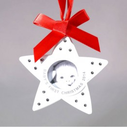 Baby's eerste kerstornament 2014 - zonder doos en certificaat